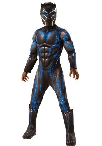 Black Panther Child Deluxe Blue Battle Suit