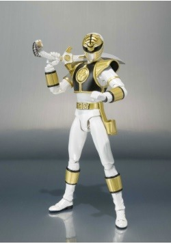 White Ranger Tamashii Nations Bandai SH Figurats Action Figu