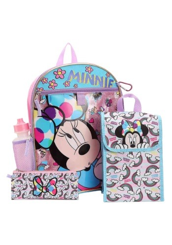 Minnie Mouse 5 in 1 Backpack Set
