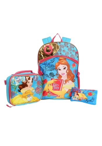 3-Piece Disney Beauty & the Beast Belle Backpack
