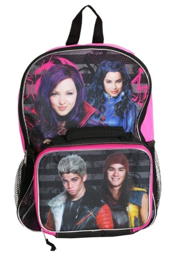 Descendants Backpack w/ Lunch Bag