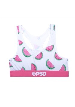 PSD Underwear- Watermelon Women's Sports Bra