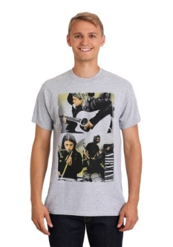 Nirvana Photo Collage Shirt