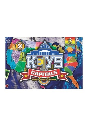 Keys to the Capitals Board Game