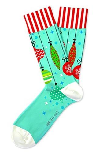Two Left Feet Trim-A-Tree Christmas Ornament Adult Socks