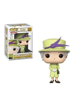 Pop! Royal- Queen Elizabeth II (Green Dress)