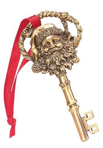 A Key for Santa Ornament