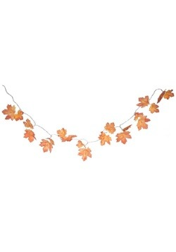 "Light Up Fall Leaf Garland 47"" Length"