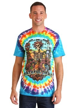 Grateful Dead Mens Rainbow Bertha Tie-Dye T-Shirt