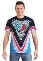 Adult Grateful Dead Splash Your Face Tie-Dye T-Shirt