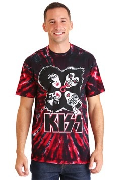 KISS Men's Burst Tie-Dye T-Shirt