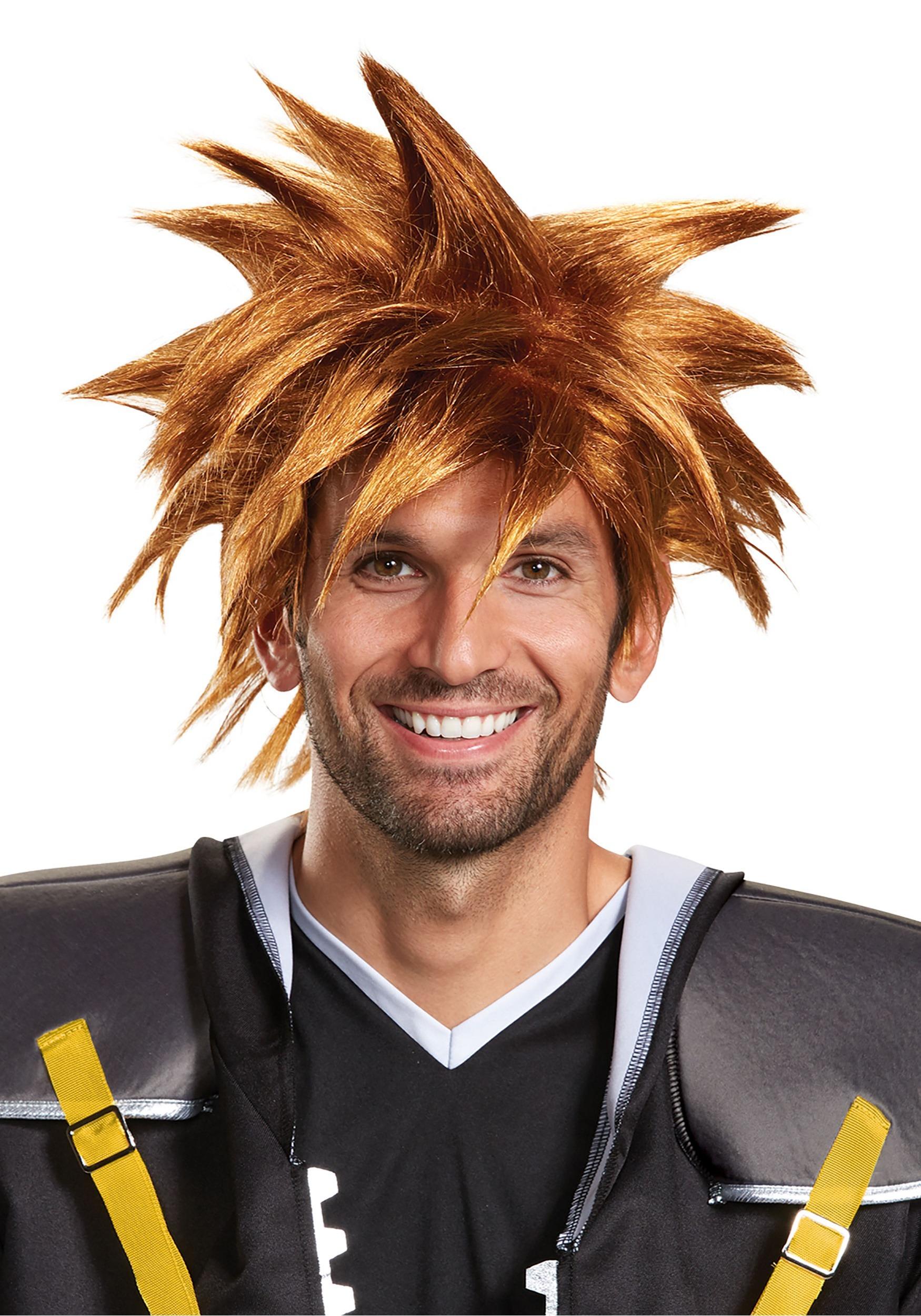 Disney's Kingdom Hearts Adult Sora Wig