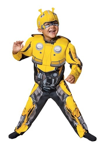 Bumblebee Movie Toddler Bumblebee Costume-1