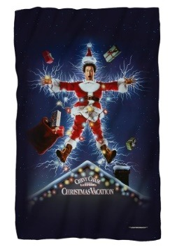 Christmas Vacation Lightweight Fleece Blanket