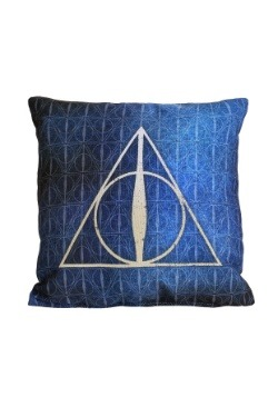 "Harry Potter Deathly Hallows 14"" x 14"" Throw Pillow"