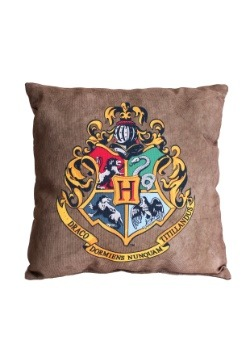 "Harry Potter Hogwarts Crest 14"" x 14"" Throw Pillow"