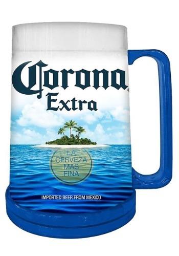 Corona Summer Can 16oz Freeze Gel Plastic Mug