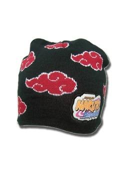 Naruto Shippuden Akatsuki Cloud Icon Beanie