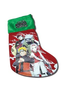 Naruto Shippuden Christmas Stocking