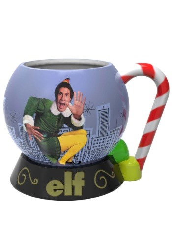Sculpted Elf Mug