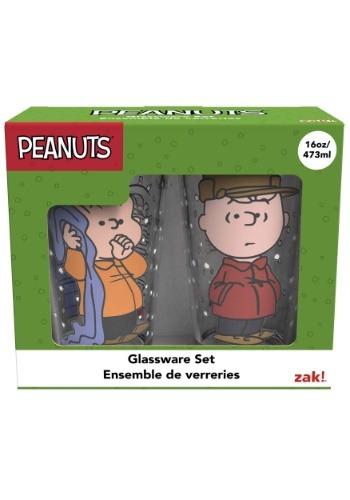 2pc Peanuts Glass Set