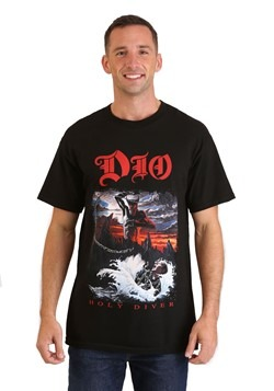 Mens DIO Holy Diver Black T-Shirt