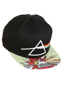 Pink Floyd Prism Burst Flatbill Snapback Hat