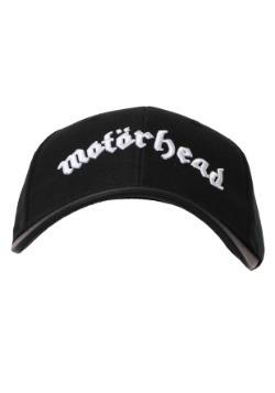 Motorhead Black Baseball Snapback Hat