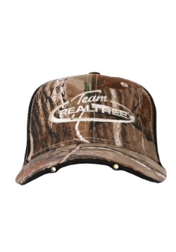 Team Realtree Camo Hat LED Lights in Visor