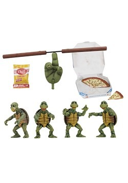 1990 TMNT 1/4 Scale Baby Turtles Set