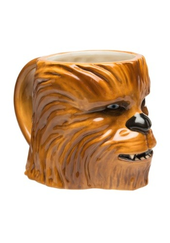 Star Wars Episode 4 Chewbacca Ceramic Sculpted Mug