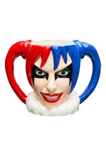 Harley Quinn Ceramic Sculpted Mug