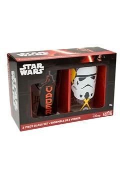 Star Wars 2pc 16oz Glass Tumbler Set