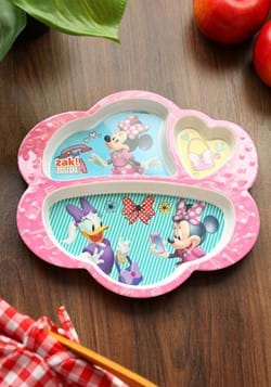 Minnie Mouse Happy Helpers 3 Section Plate