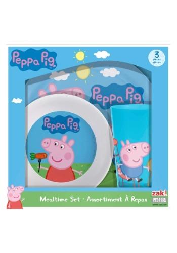 Peppa Pig 3 Piece Dinner Set