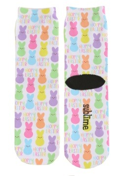 Hoppy Easter Adult Crew Socks