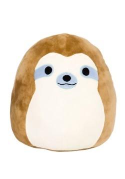 """Squishmallow Simon Sloth 8"""" Plush"""