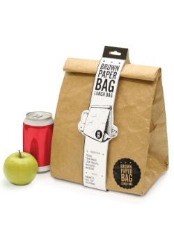 Insulated Brown Paper Lunch Bag Alt1