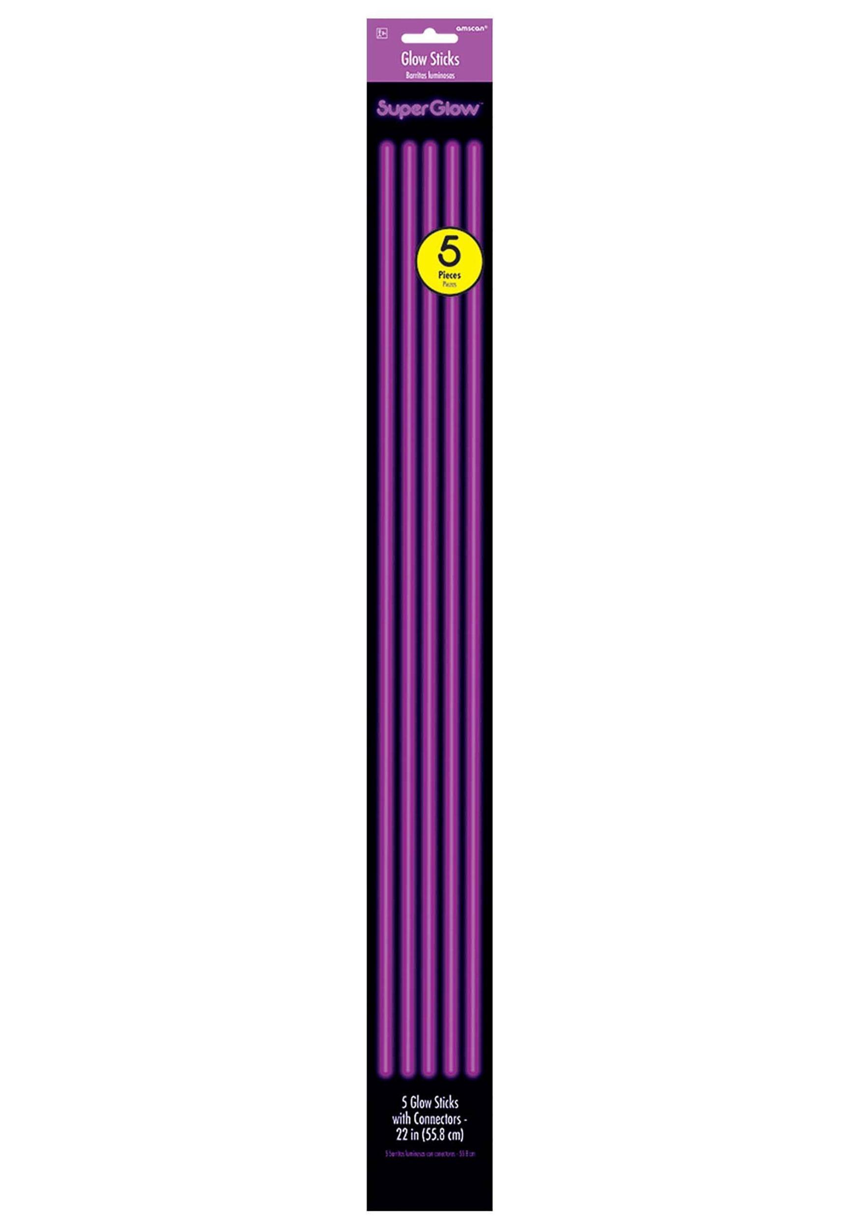 5_Pack_Purple_Glowsticks