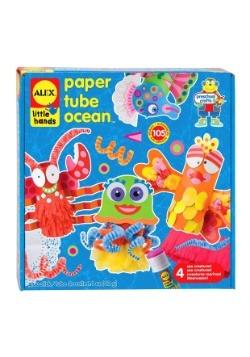 Paper Tube Ocean