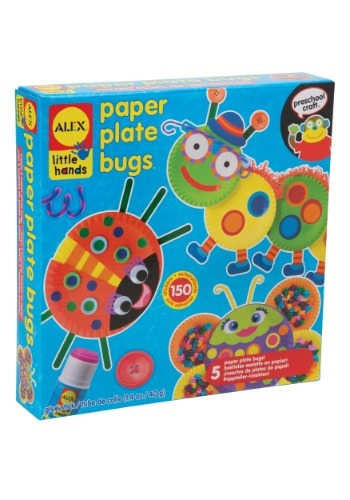 Paper Plate Bugs Craft Set