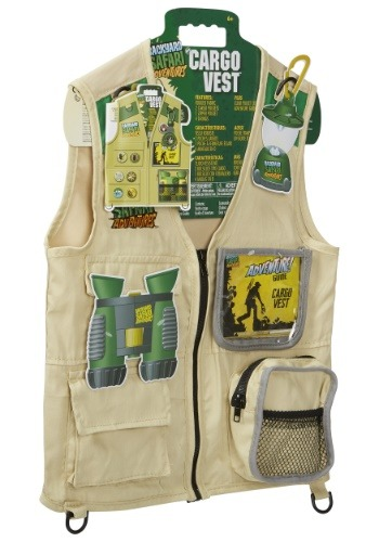 Kids Back Yard Safari Cargo Vest