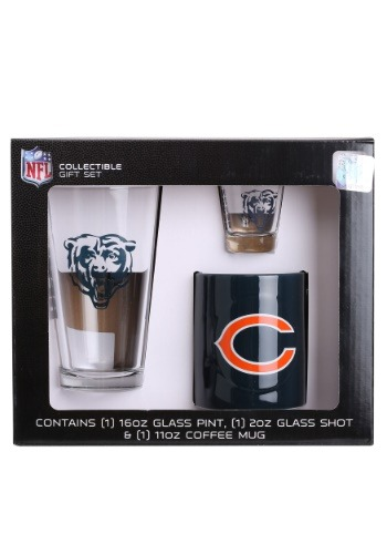Chicago Bears 3PC Drinkware Gift Set