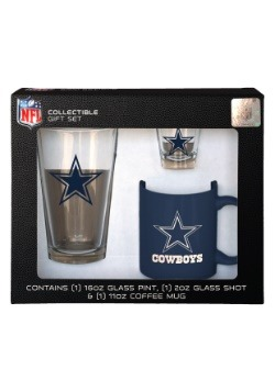 Dallas Cowboys 3PC Drinkware Gift Set