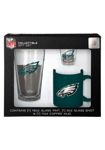 Philadelphia Eagles Drinkware 3 Piece Gift Set