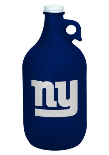 New York Giants Color Frosted 64oz Growler