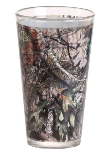 Mossy Oak Sublimated 16 oz Pint Glass