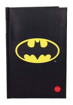 BATMAN DC COMICS BIG NOTEBOOK W/LIGHT (19x29 cm)