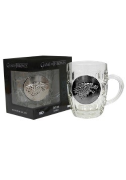 GAME OF THRONES STARK CRYSTAL STEIN WITH METALLIC