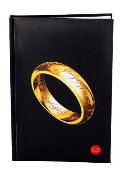 THE ONE RING- LORD OF THE RINGS- NOTEBOOK W/LIGHT